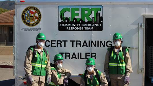 Altus Cadets (part of the California Cadet Corps program) learn about emergency response training, preparing them for a path with the military, emergency services, medical services, and more.